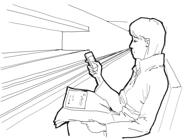female-smartphone-in-trainstation