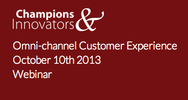 Directors' Club (GB & NI) Champions & Innovators 2013, October 10th 2013, Webinar