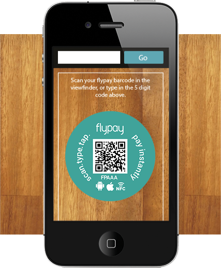 Pretty Fly...Flypay let's you pay for your restuarant bill via your phone - using a NFC, QR codes or a URN